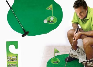 jeu de mini golf