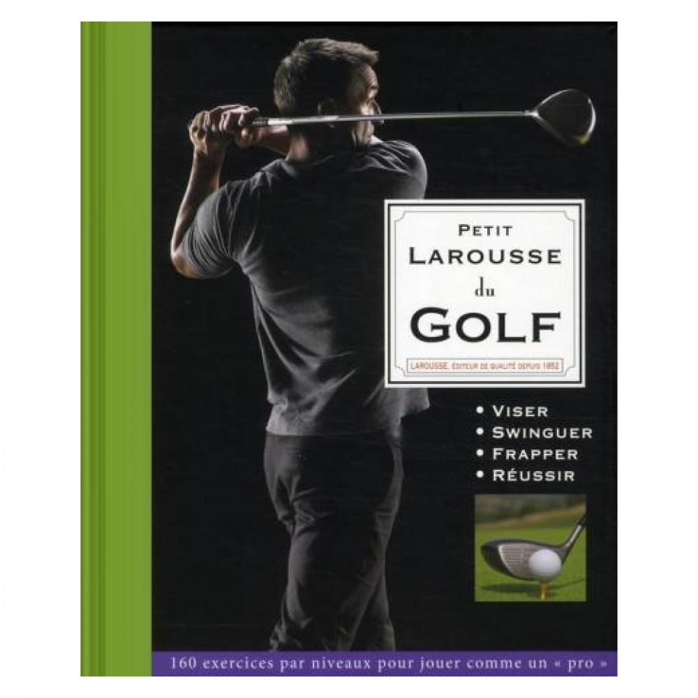 livre larousse golf