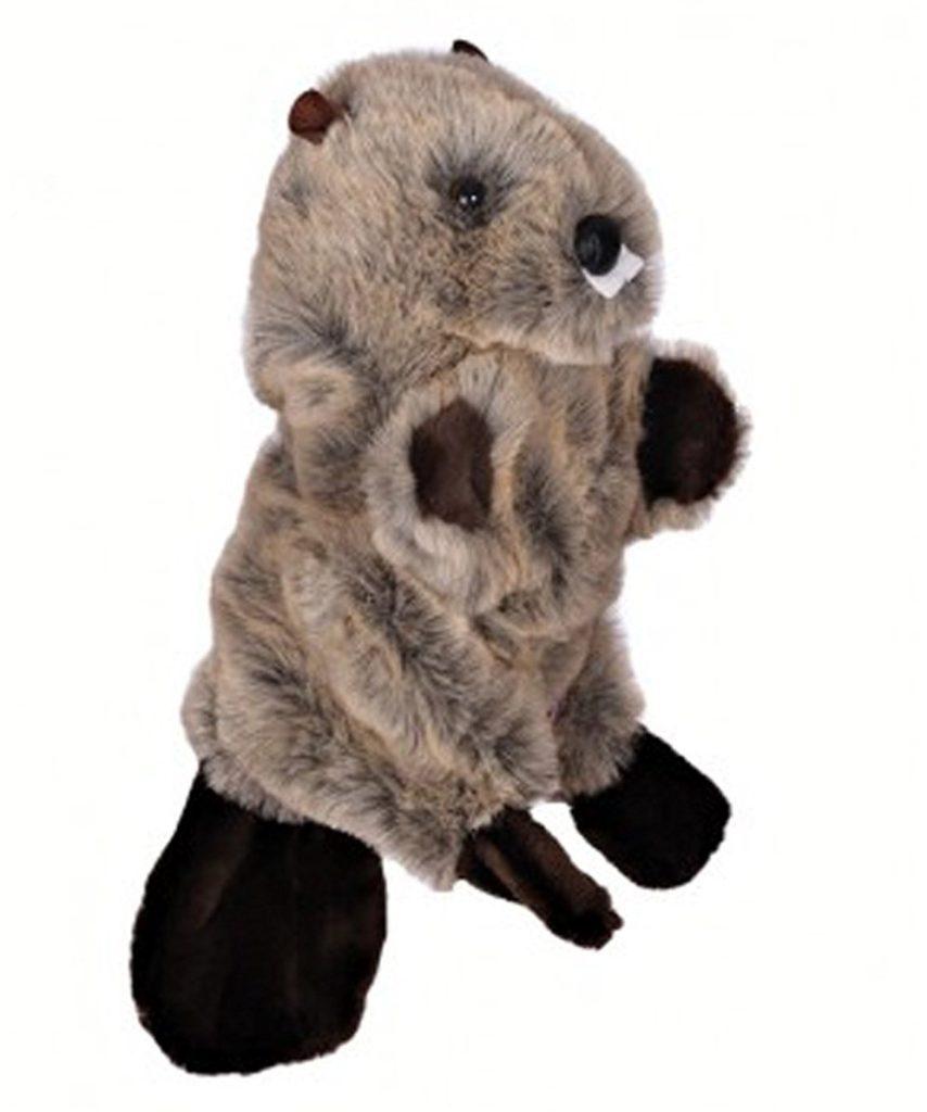 couvre-bois golf castor capuchon