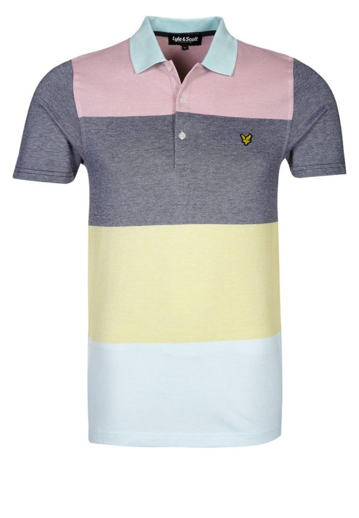 lyle scott gris jaune rose