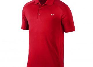 polo nike rouge cadeau golf
