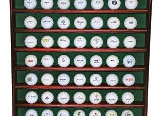 présentoir balles de golf cadeau golf