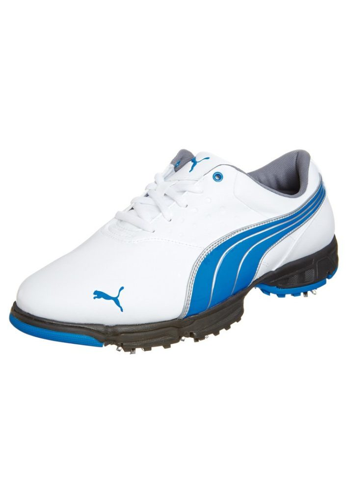 chaussures puma bleues