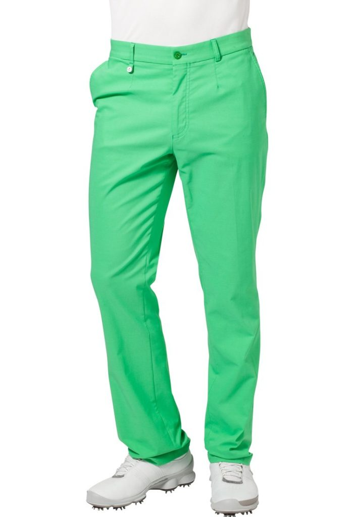 pantalon golf vert