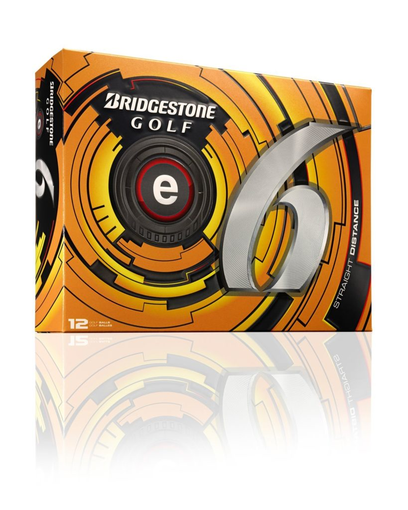 12 Balles de Golf Bridgestone E6