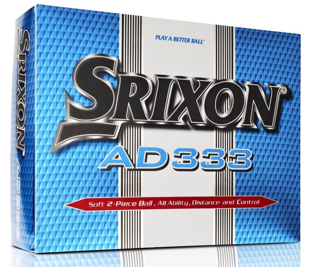 12 Balles de golf Srixon AD333 homme
