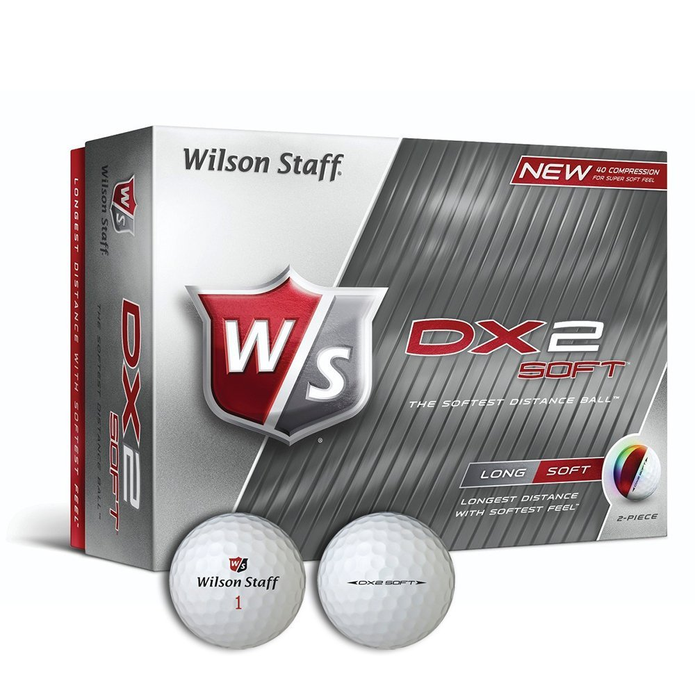12 balles de golf Wilson Dx2 Soft