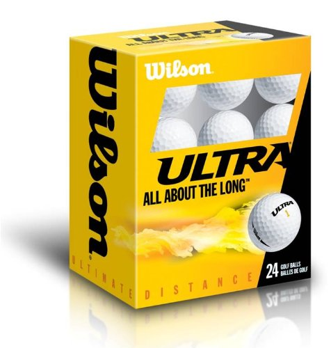 24 Balles de golf Wilson ULTRA ULTDIS