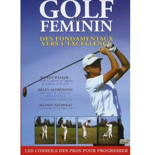 DVD Golf - Golf au féminin
