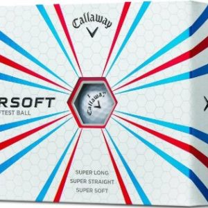 Douzaine de Balles Callaway Golf Supersoft 2014