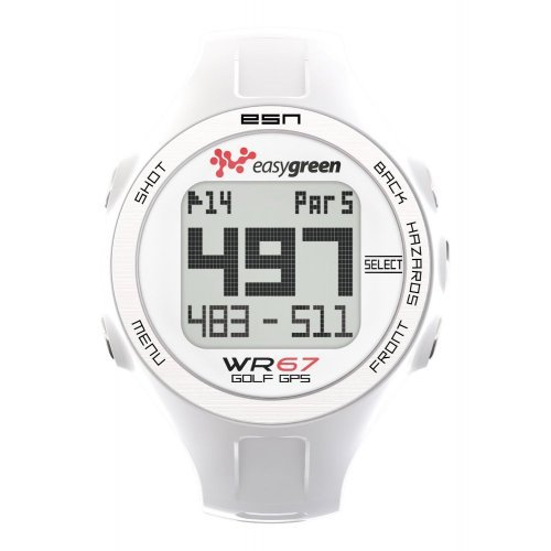 Easy Green WR67 Montre de golf GPS