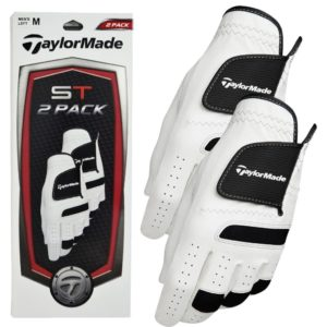 Gants de golf TaylorMade Premium ST Syntetic Tech En Cuir Lot de 2