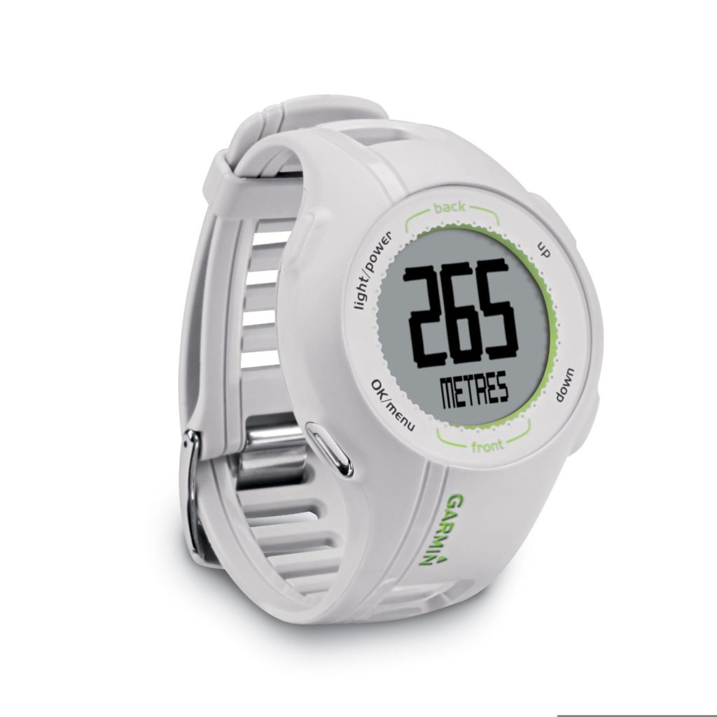 Garmin Approach S1Blanche Montre GPS de Golf