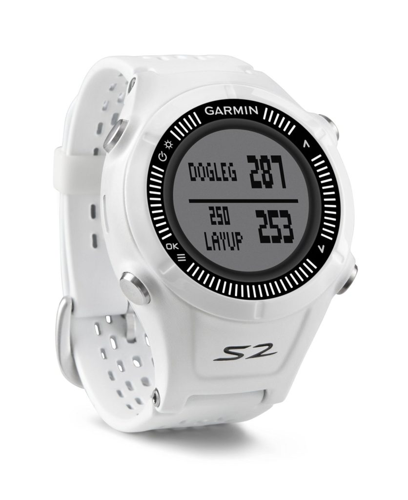 Garmin Approach S2 Montre de Golf Blanche