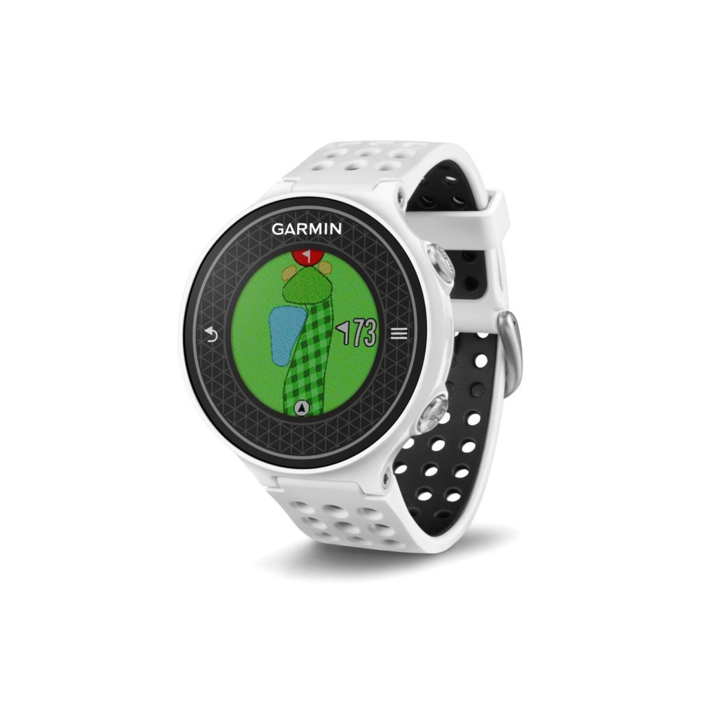montre gps de golf garmin approach s6 blanche le meilleur du golf. Black Bedroom Furniture Sets. Home Design Ideas