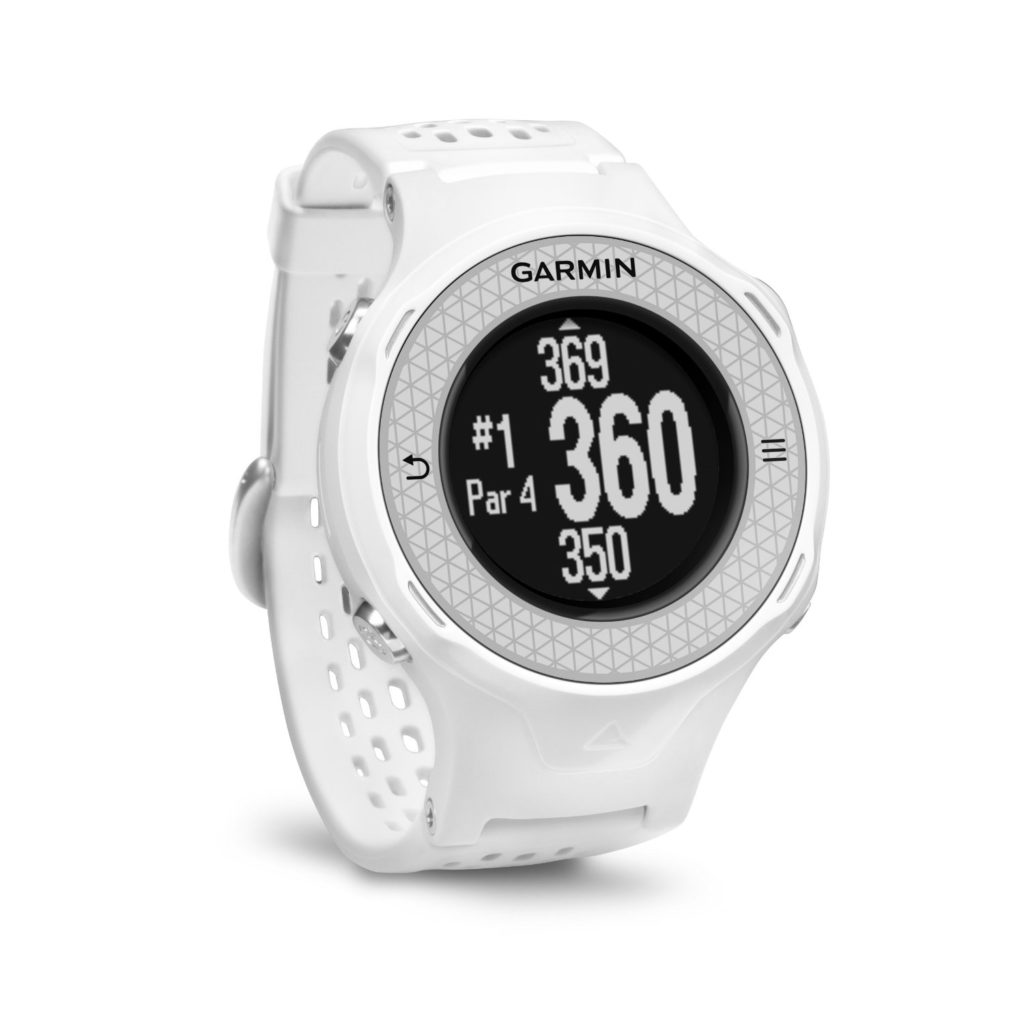 montre gps de golf garmin approach s4 blanche le meilleur du golf. Black Bedroom Furniture Sets. Home Design Ideas