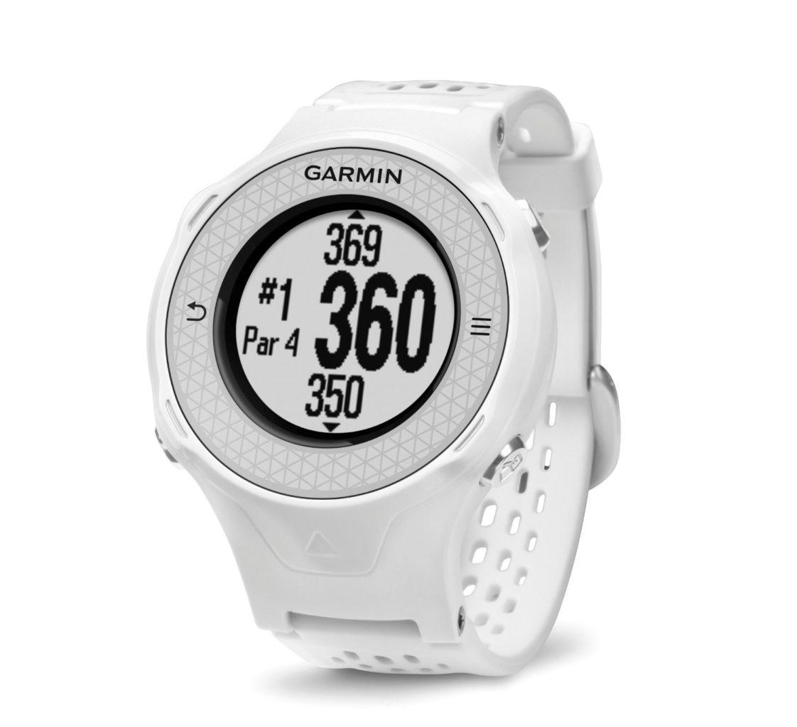 Montre GPS de golf Garmin Approach S4 blanche