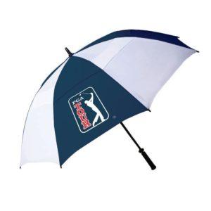 Parapluie Golf PGA Tour Blanc et Bleu