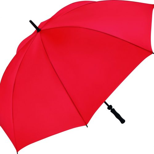 Parapluie golf Fare 130 cm grande taille Rouge