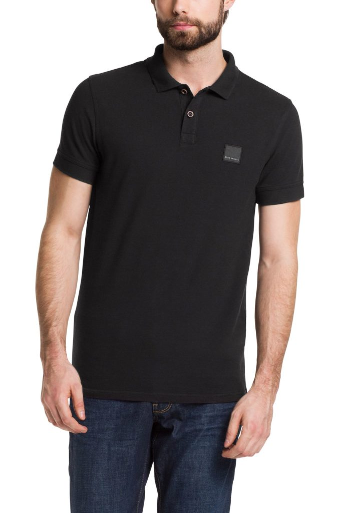 Polo Golf BOSS Slim Fit « Pascha » Noir