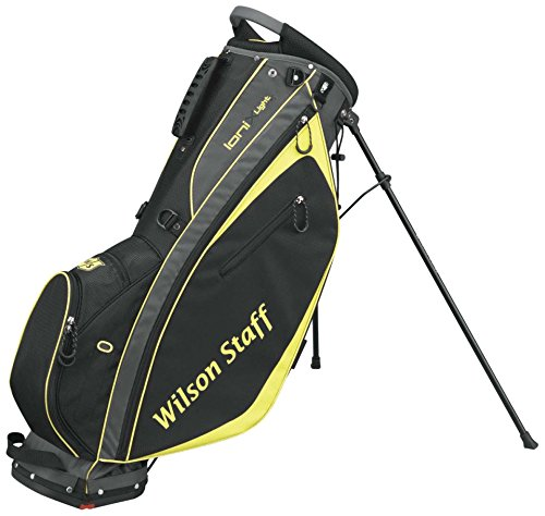 Sac Golf Wilson Staff Ionix Light Carry Jaune et Noir