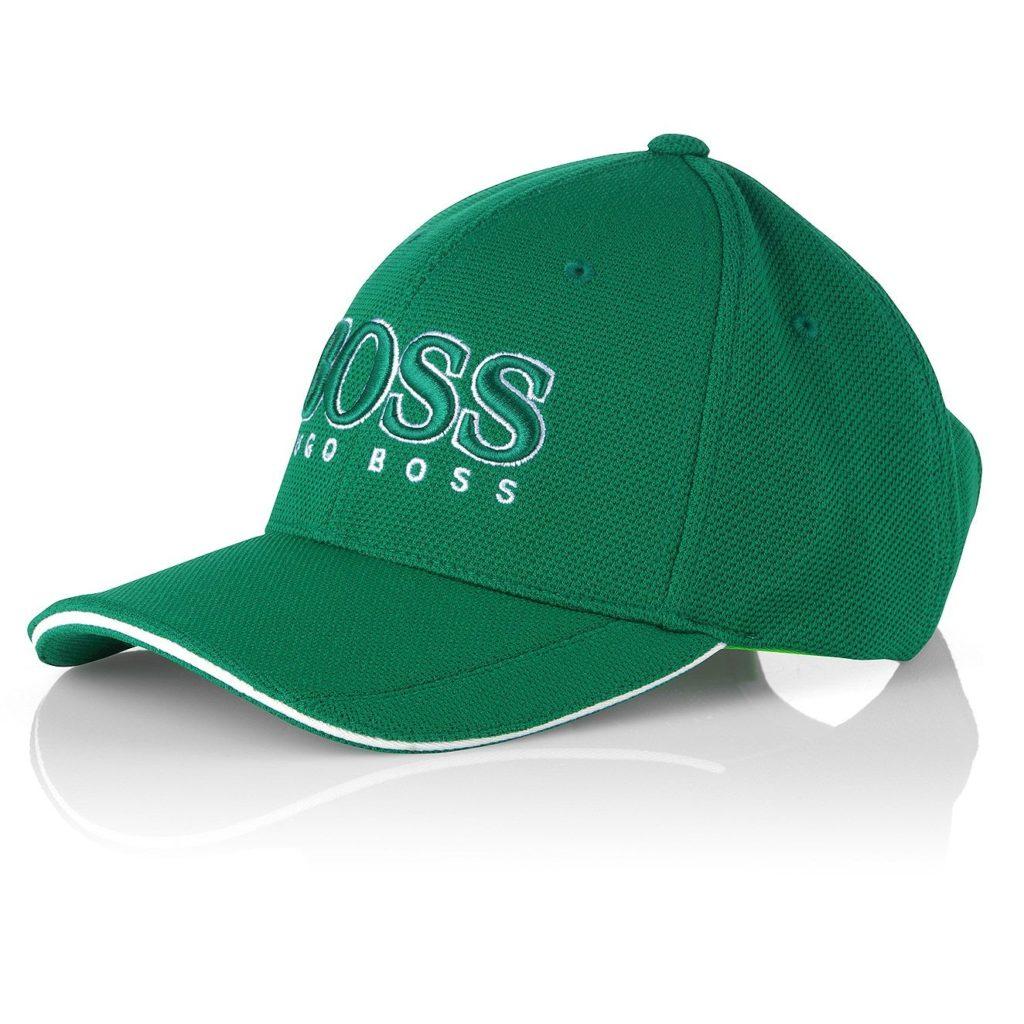 Casquette de golf Hugo Boss verte
