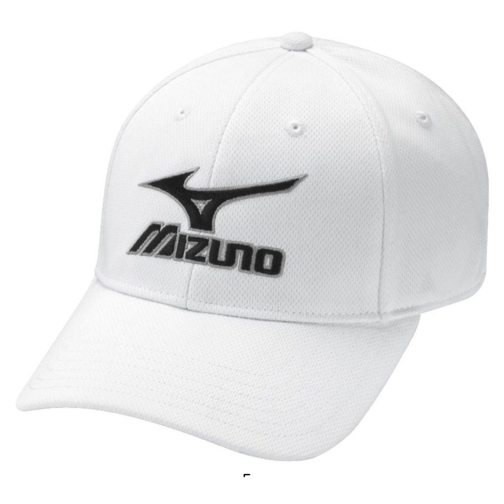 Casquette de golf Mizuno blanche