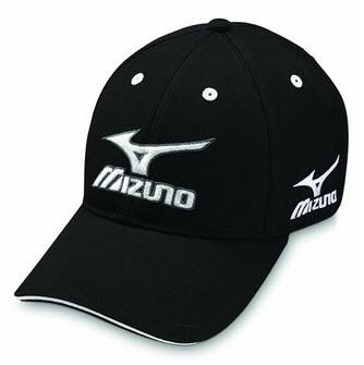 Casquette de golf Mizuno noire