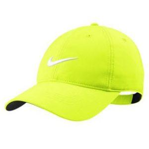 Casquette de golf Nike jaune