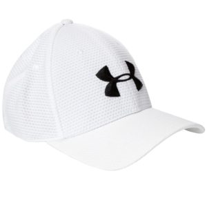 Casquette de golf Under Armour blanche