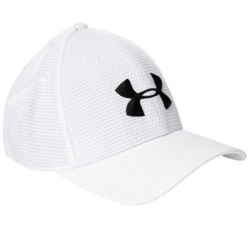 Casquette de golf Under Armour blanche
