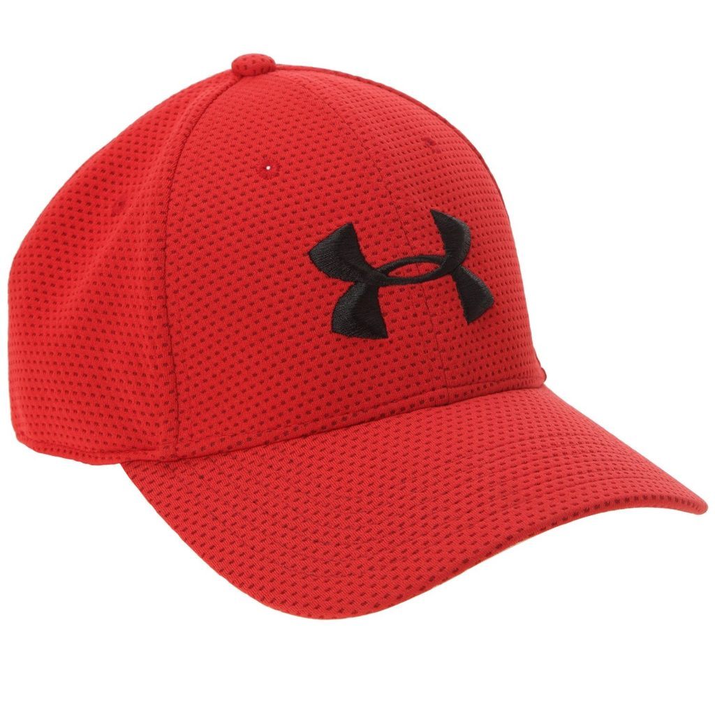 Casquette de golf Under Armour rouge