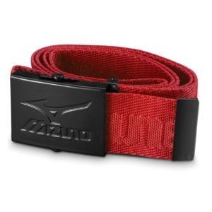 Ceinture de golf Mizuno à sangle rouge