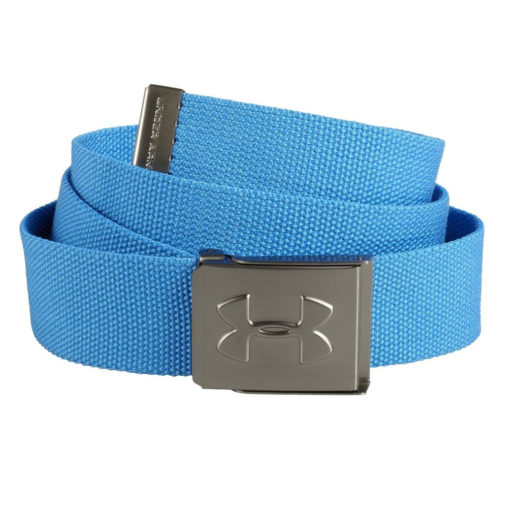 Ceinture de golf Under Armour en Toile bleue