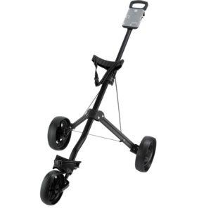 Chariot de golf Ben Sayers 3 roues Noir