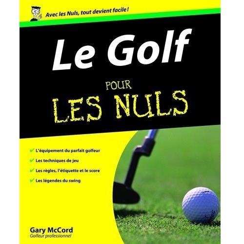 Le golf pour les nuls