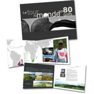Le tour du monde en 80 golfs livre