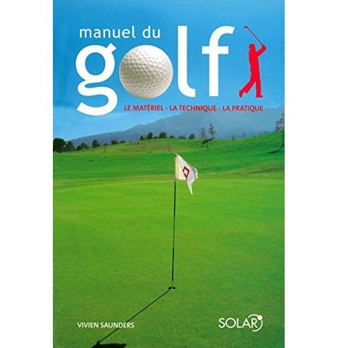 Manuel du golf livre
