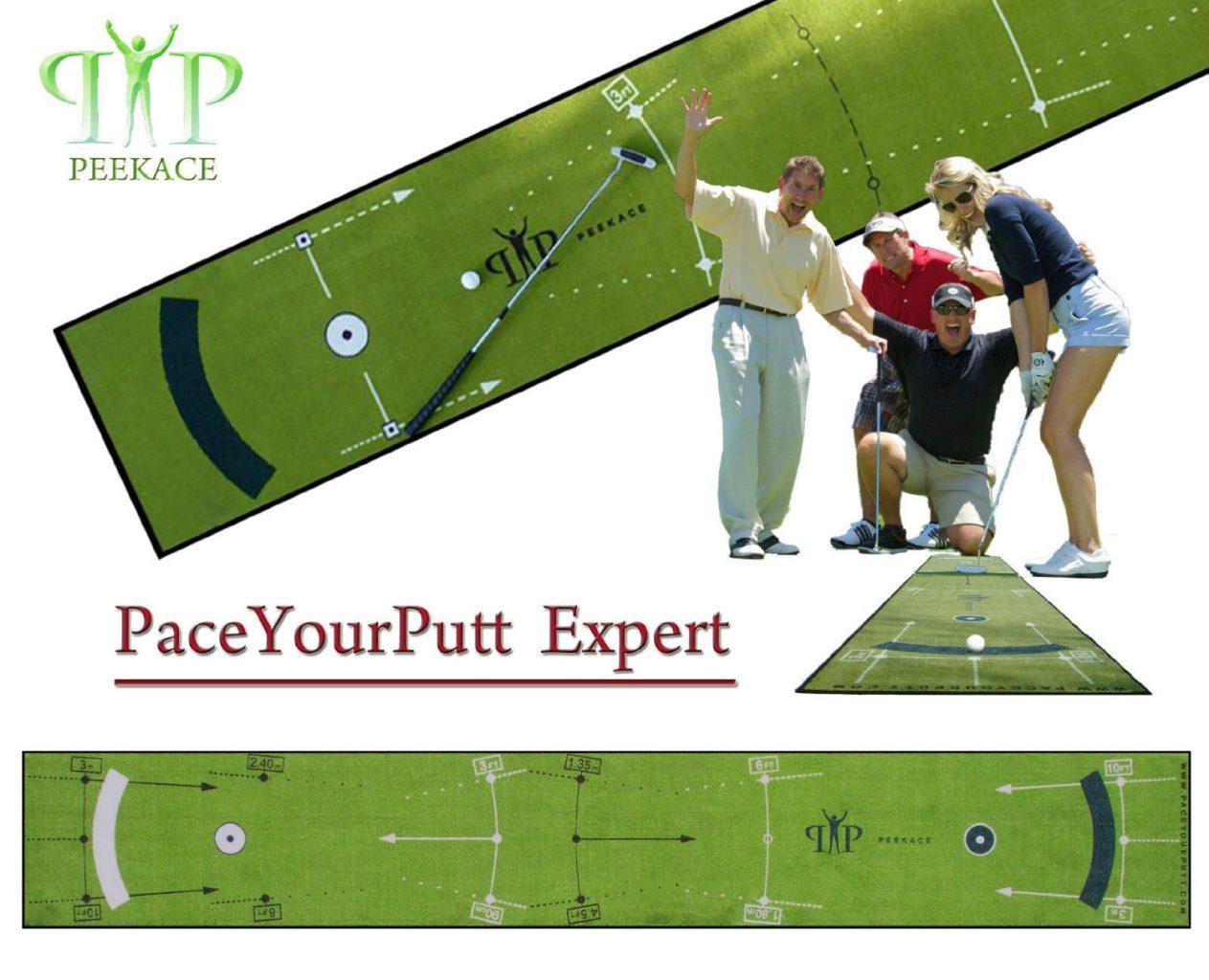 Tapis de Putting Peekace PaceYourPutt Expert 60cm x 400cm