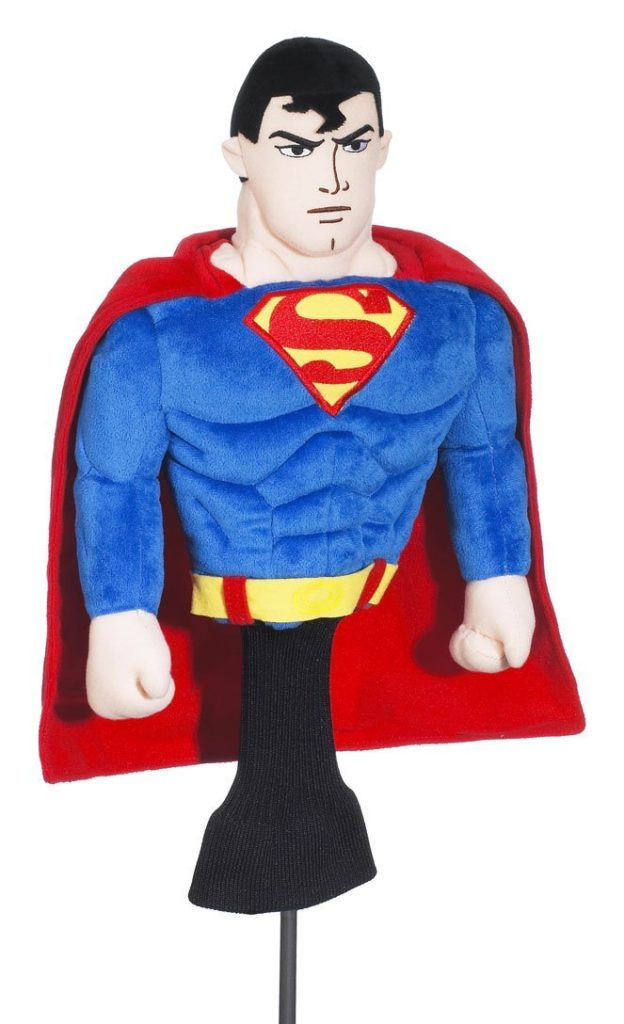 couvre-bois golf superman