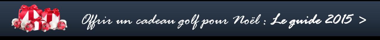 cadeaux golf Noël 2015