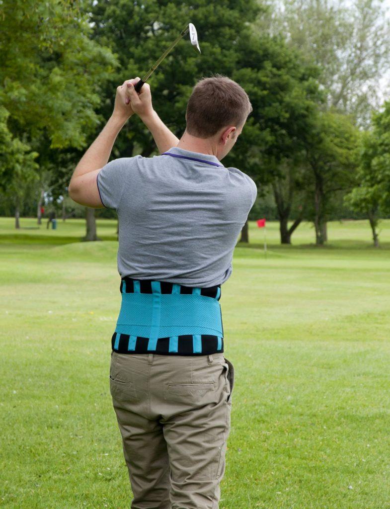 ceinture lombaire golf