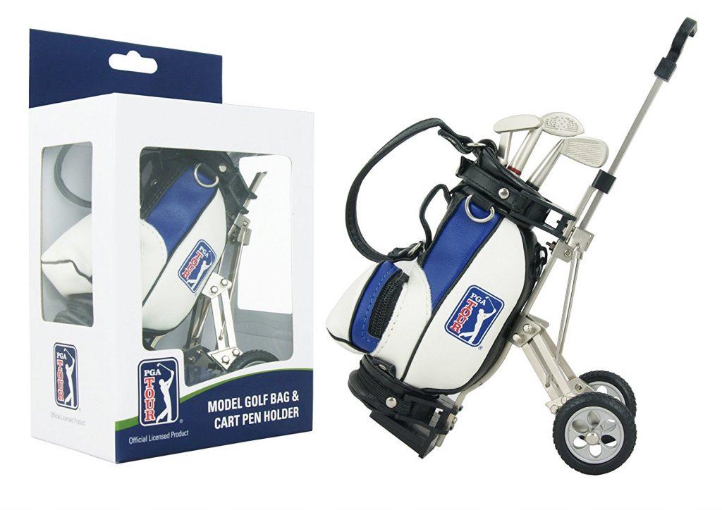Coffret cadeau golf PGA Tour Chariot de golf + Stylos