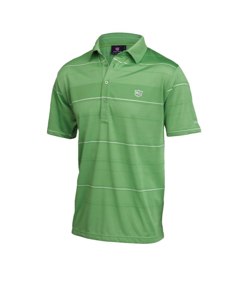 Wilson Staff Performance Plus Polo de golf homme vert XXL