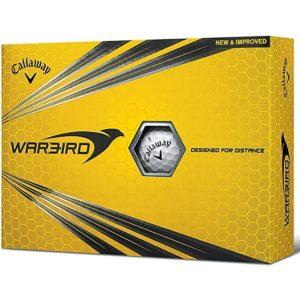 12 Balles de golf Callaway Warbird Hex 2017