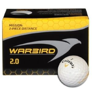 Balles de golf Callaway Warbird 2.0 pour distance