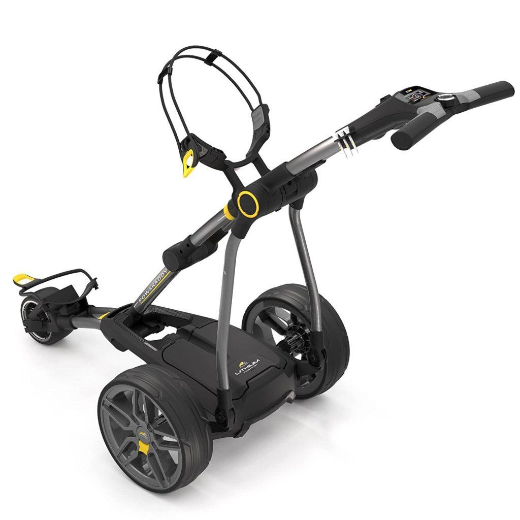 chariot de golf lectrique powakaddy c2 compact le meilleur du golf. Black Bedroom Furniture Sets. Home Design Ideas