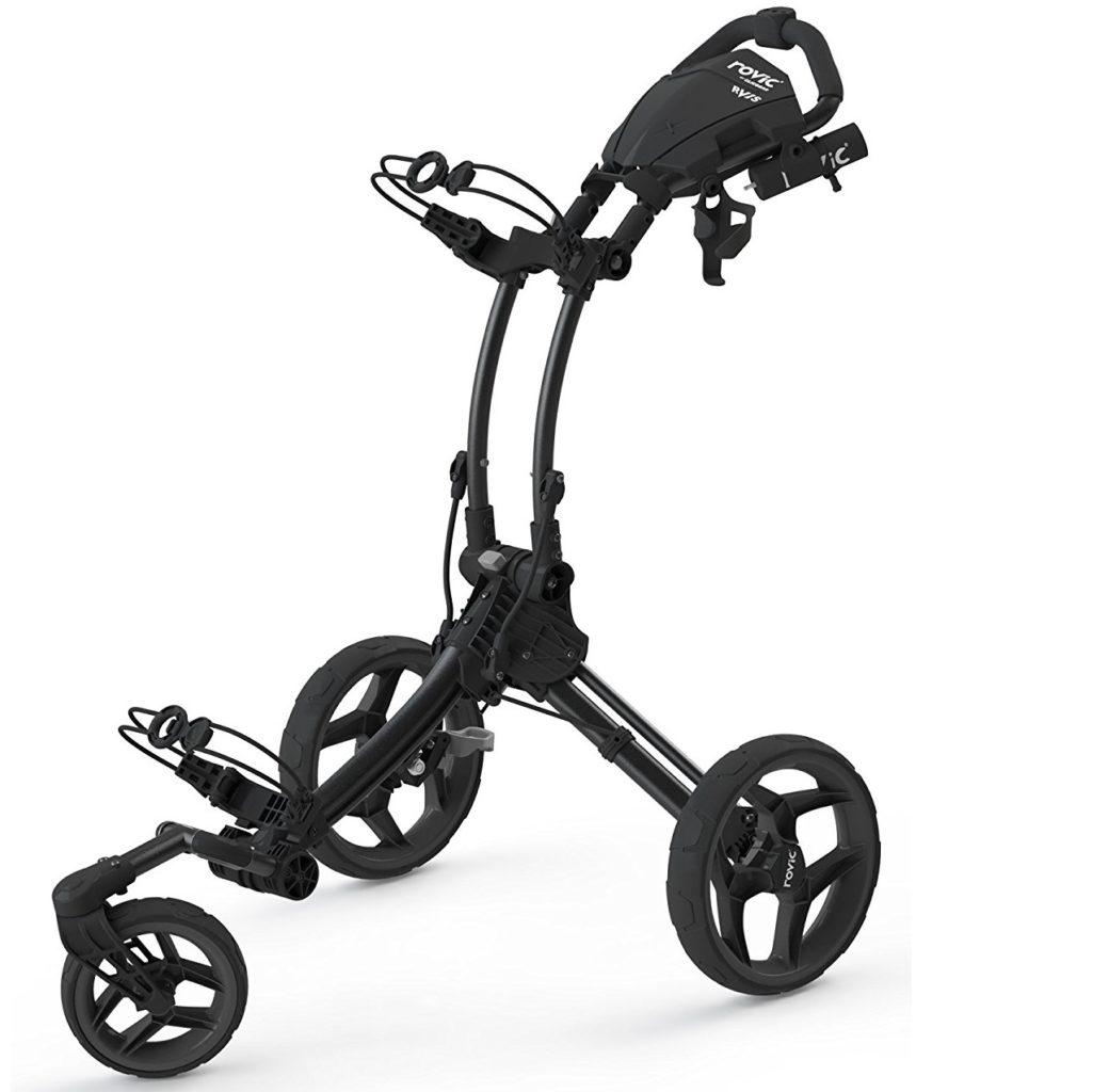 chariot de golf clicgear rovic rv1s 3 roues le meilleur du golf. Black Bedroom Furniture Sets. Home Design Ideas