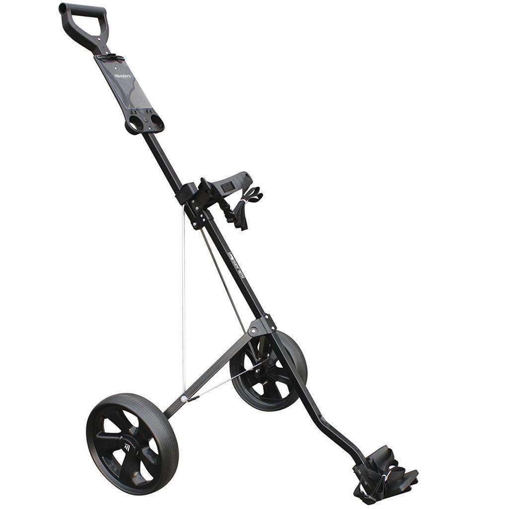 chariot de golf masters 1 series 2 roues le meilleur du golf. Black Bedroom Furniture Sets. Home Design Ideas