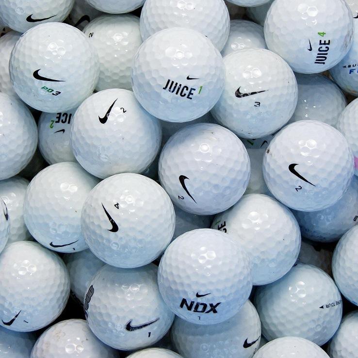 100 balles de golf d 39 occasion nike grade b le meilleur du golf. Black Bedroom Furniture Sets. Home Design Ideas